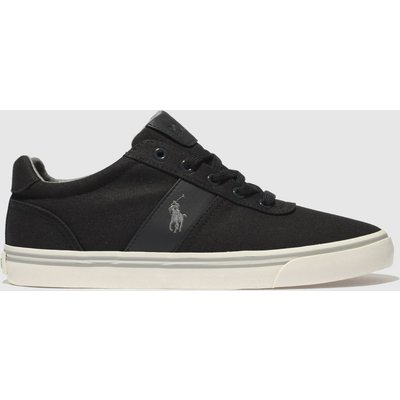 polo ralph lauren dark grey hanford 2 shoes - 5051571734509
