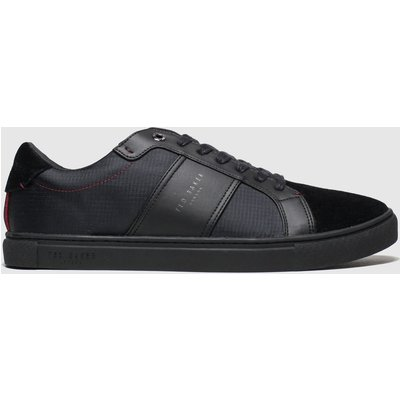 Ted Baker Black Qwuin Trainers