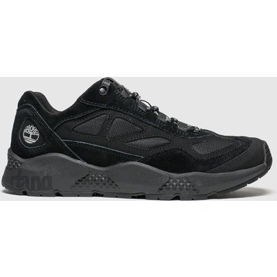 Timberland Black Ripcord Low Hiker Trainers