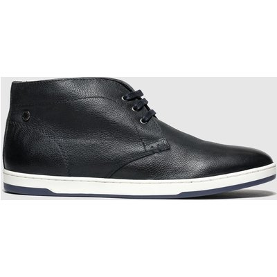Base London Navy Tango Trainers
