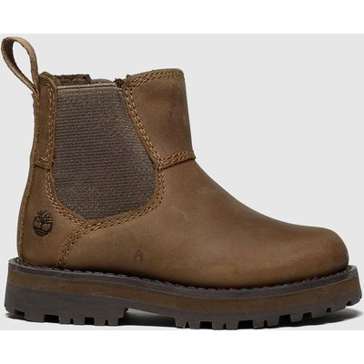Timberland Brown Courma Chelsea Boots Toddler
