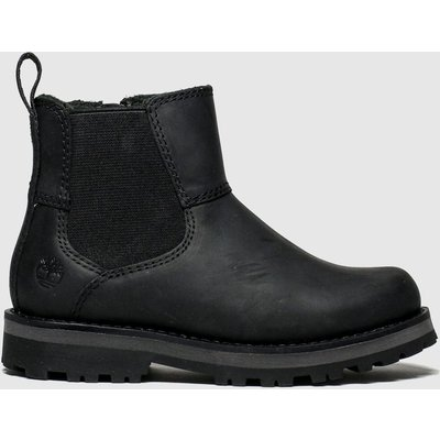 Timberland Black Courma Chelsea Boots Toddler