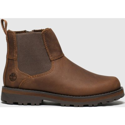 Timberland Brown Courma Chelsea Boots Junior