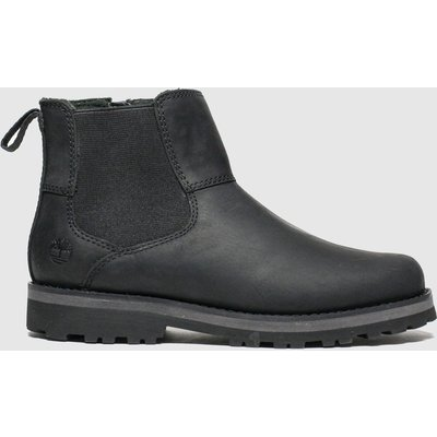 Timberland Black Courma Chelsea Boots Junior