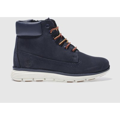 Timberland Navy Killington 6 Inch Boots Junior