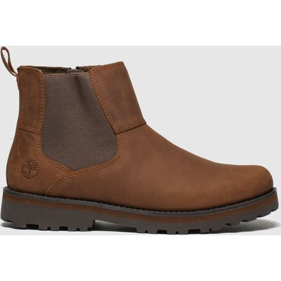 Timberland Brown Courma Chelsea Boots Youth