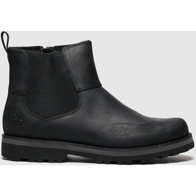 Timberland Black Courma Chelsea Boots Youth