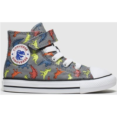 Converse Multi All Star 1v Dino Hi Trainers Toddler