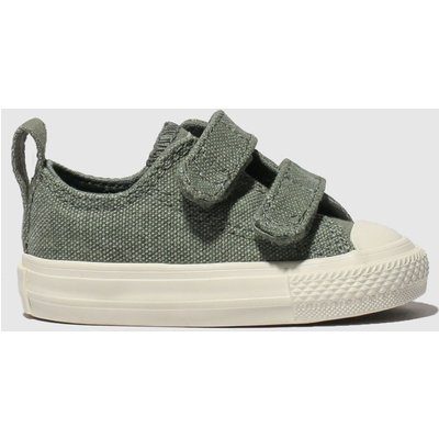 Converse Khaki All Star 2v Lo Trainers Toddler