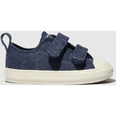 Converse Navy All Star 2v Lo Trainers Toddler