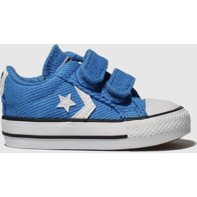 Converse Blue Star Player Ev 2v Lo Trainers Toddler