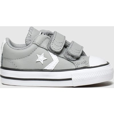 Converse Grey Star Player 2v Mars Trainers Toddler