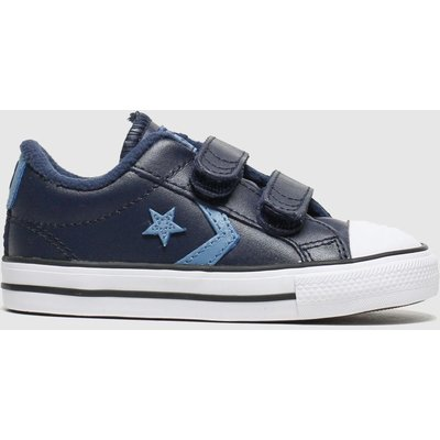 Converse Navy & Pl Blue Star Player 2v Lo Trainers Toddler
