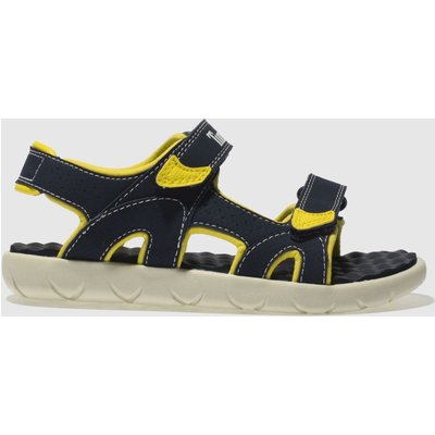 Timberland Navy Perkins Row Sandals Junior