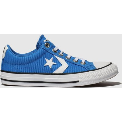Converse Blue Star Player Ev Lo Trainers Junior
