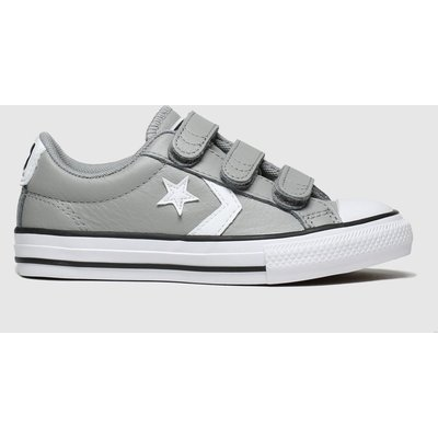 Converse Grey Star Player 3v Mars Trainers Junior