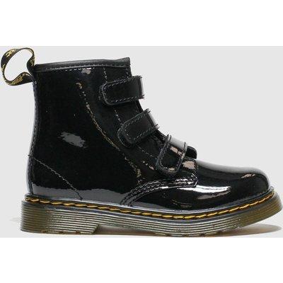 Dr Martens Black 1460 Strap Boots Toddler