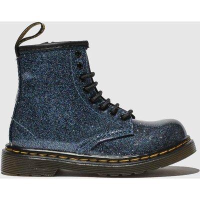Dr Martens Blue 1460 Glitter Boots Toddler
