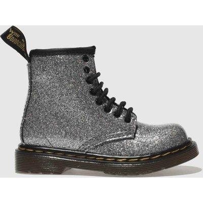 Dr Martens Silver 1460 Glitter Boots Toddler