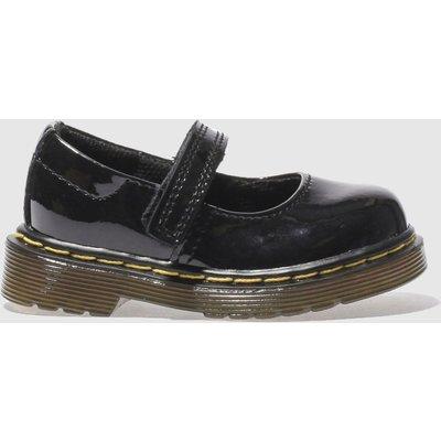 Dr Martens Black Maccy Shoes Toddler
