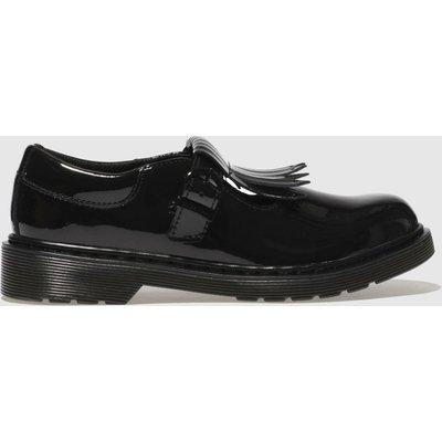 Dr Martens Black Torey Shoes Junior