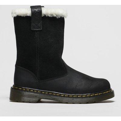 Dr Martens Black Juney Boots Junior