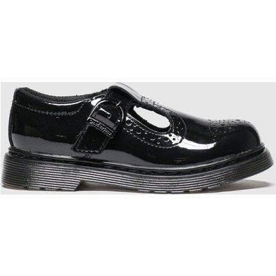 Dr Martens Black Polley Brogue Shoes Junior