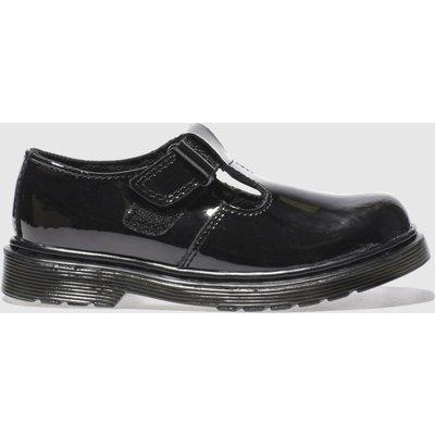 Dr Martens Black Ailis Shoes Junior