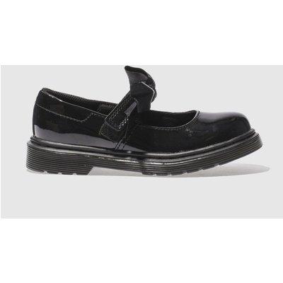 Dr Martens Black Maccy Ii Shoes Junior