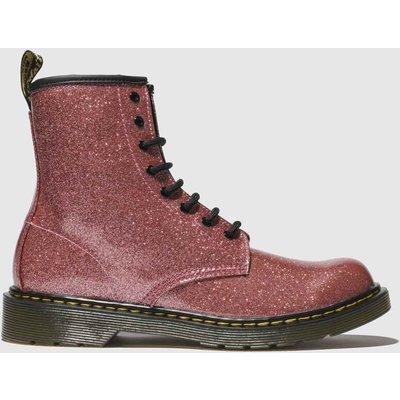 Dr Martens Pink 1460 Glitter Boots Junior