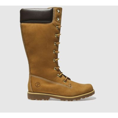 Timberland Tan Asphalt Trail Tall Boots Youth