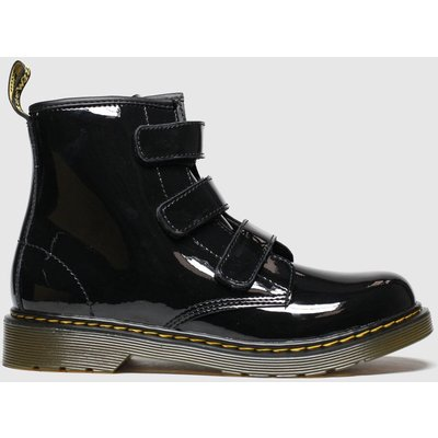 Dr Martens Black 1460 Strap Boots Youth
