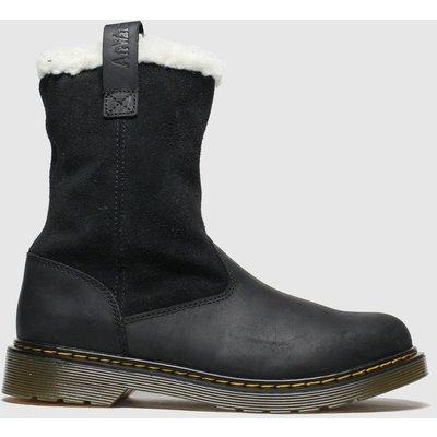 Dr Martens Black Juney Boots Youth