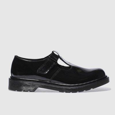Dr Martens Black Ailis Shoes Youth