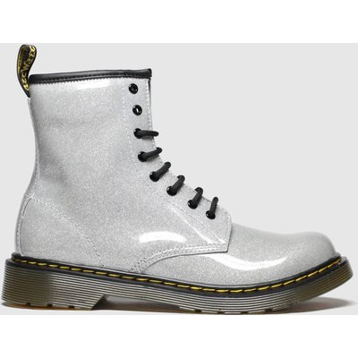 Dr Martens Silver 1460 Glitter Boots Youth