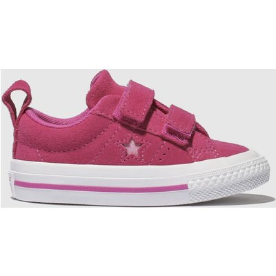 Converse Pink One Star 2v Trainers Toddler