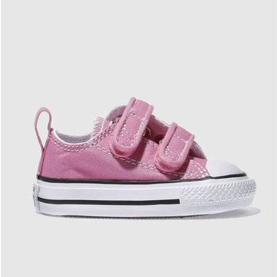 Converse Pink All Star Ox 2v Trainers Toddler