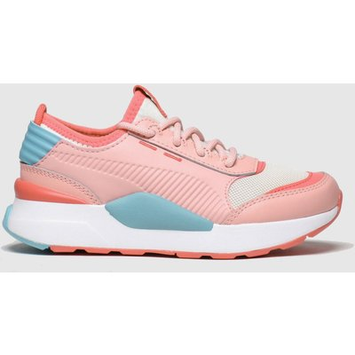 Puma Pink & Blue Rs-0 Smart Trainers Junior