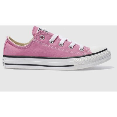 Converse Pink All Star Lo Trainers Junior
