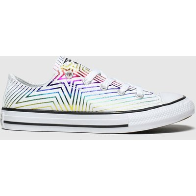 Converse Multi All Star Lo All The Stars Trainers Junior