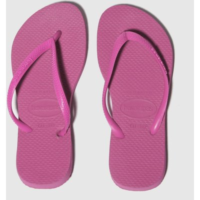 Havaianas Pink Slim Trainers Junior