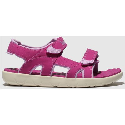 Timberland Pink Perkins Row Sandals Youth