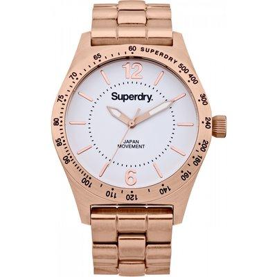 Ladies Superdry Infantry Steel Watch - 5024693102990