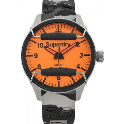 Mens Superdry Scuba Camo Watch - 5024693112081