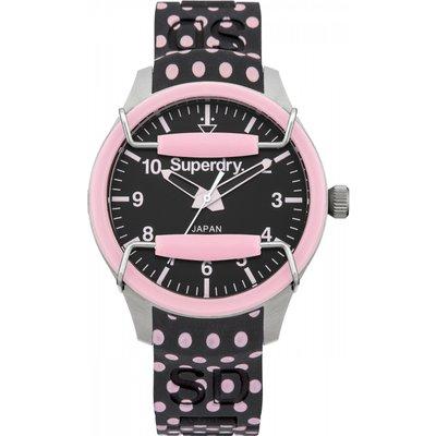 Ladies Superdry Scuba Polka Watch - 5024693114719