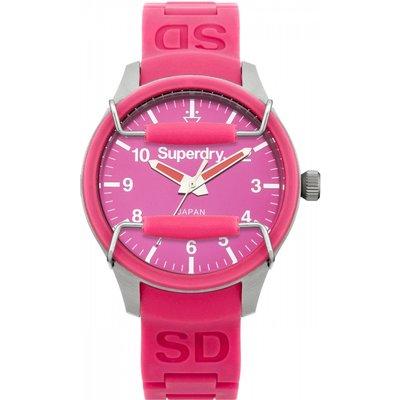 Ladies Superdry Scuba Mirror Watch - 5024693114566