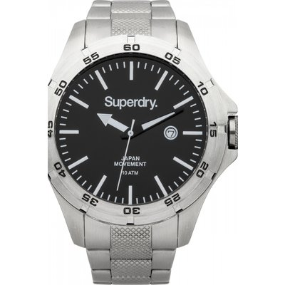 Mens Superdry Adventurer Steel Watch - 5024693116973