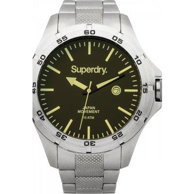 Mens Superdry Adventurer Steel Watch - 5024693116966