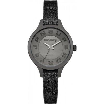 Ladies Superdry Skinny Metallic Watch - 5024693120536