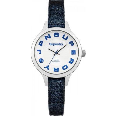 Ladies Superdry Skinny Metallic Watch - 5024693120550